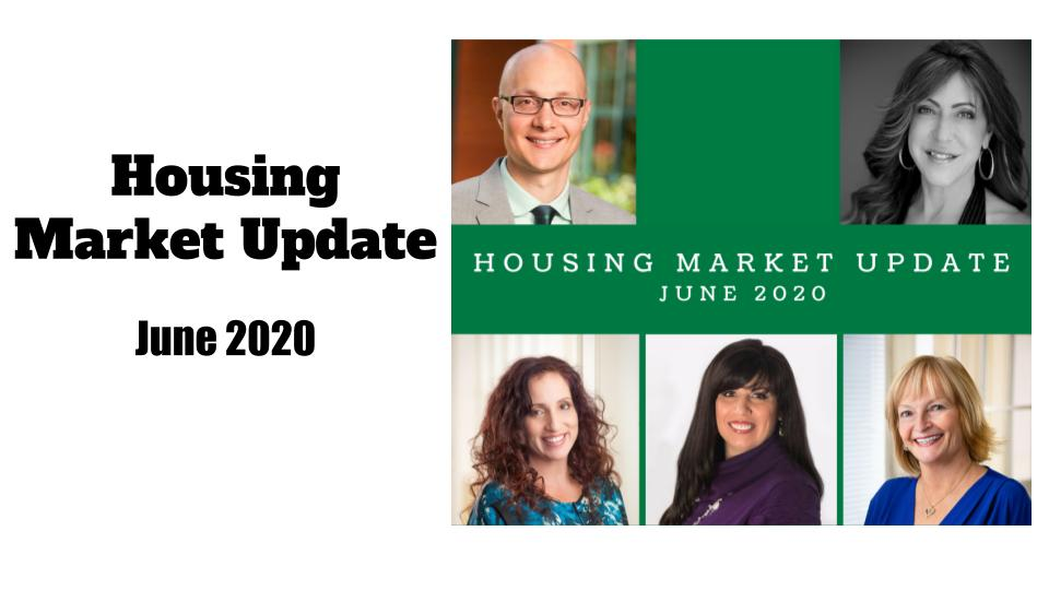 June 2020 Housing Market Update