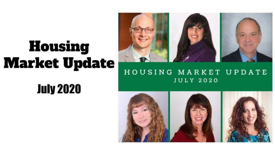 July 2020 Housing Market Update