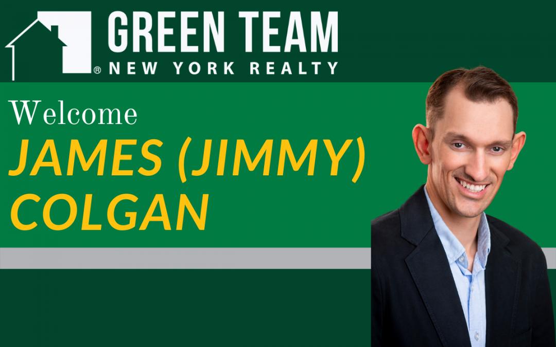 Welcome James (Jimmy) Colgan
