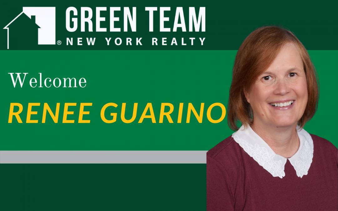 Welcome Renee Guarino