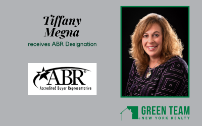 Tiffany Megna receives ABR Designation