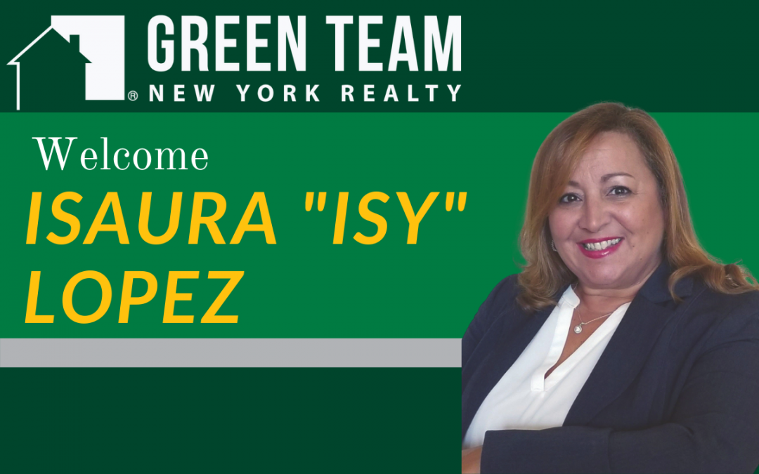 """Welcome Isaura """"Isy"""" Lopez"""