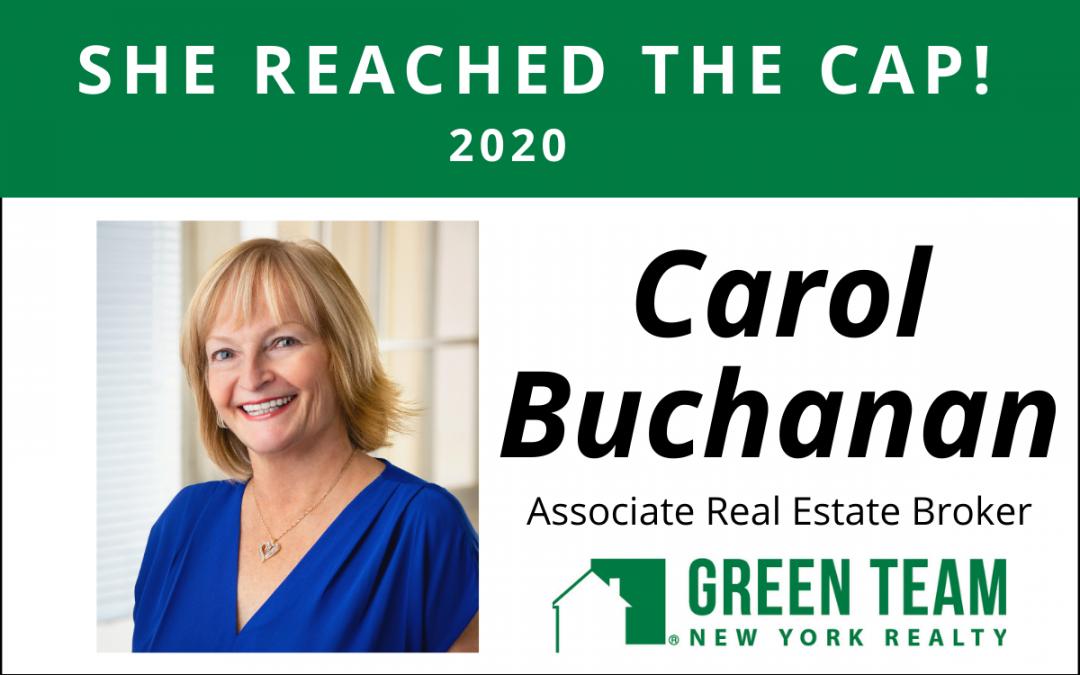 Congrats To Carol Buchanan For Reaching The Cap!