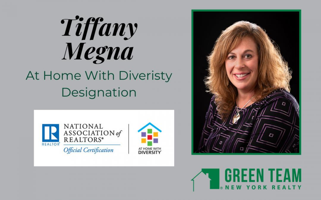 Tiffany Megna achieves AHWD Designation