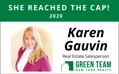 Congrats to Karen Gauvin For Reaching the Cap!