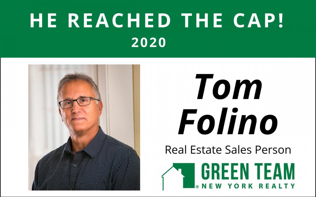 Congrats to Tom Folino For Reaching the Cap!
