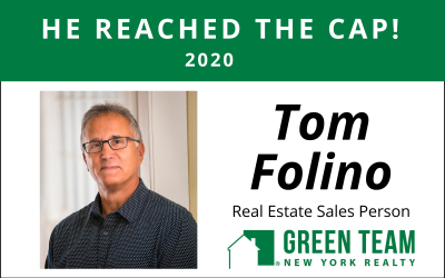 Congrats to Tom Folino For Reaching the Cap!