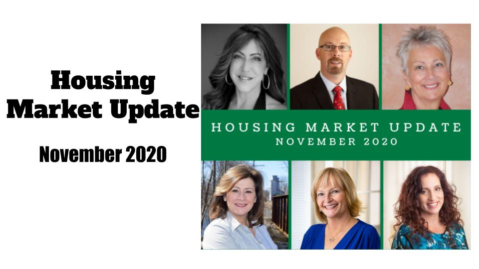November 2020 Housing Market Update