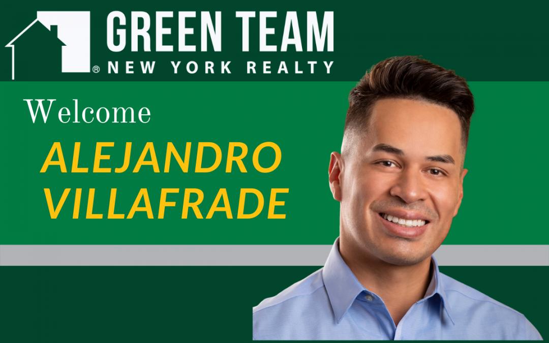 Welcome Alejandro Villafrade