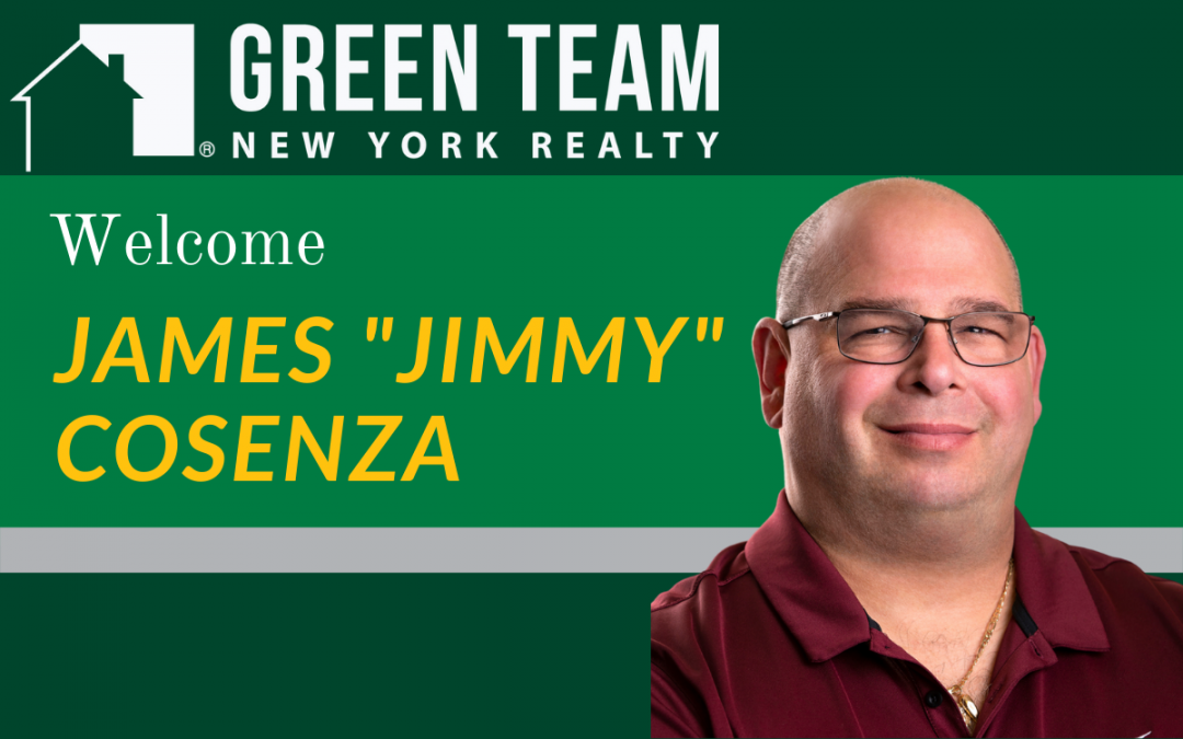 "Welcome James ""Jimmy"" Cosenza"