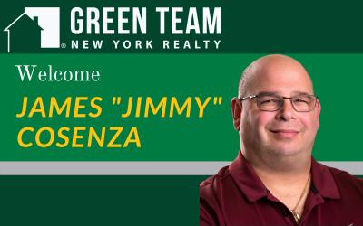 "Welcome James ""Jimmy"" Cosenza"