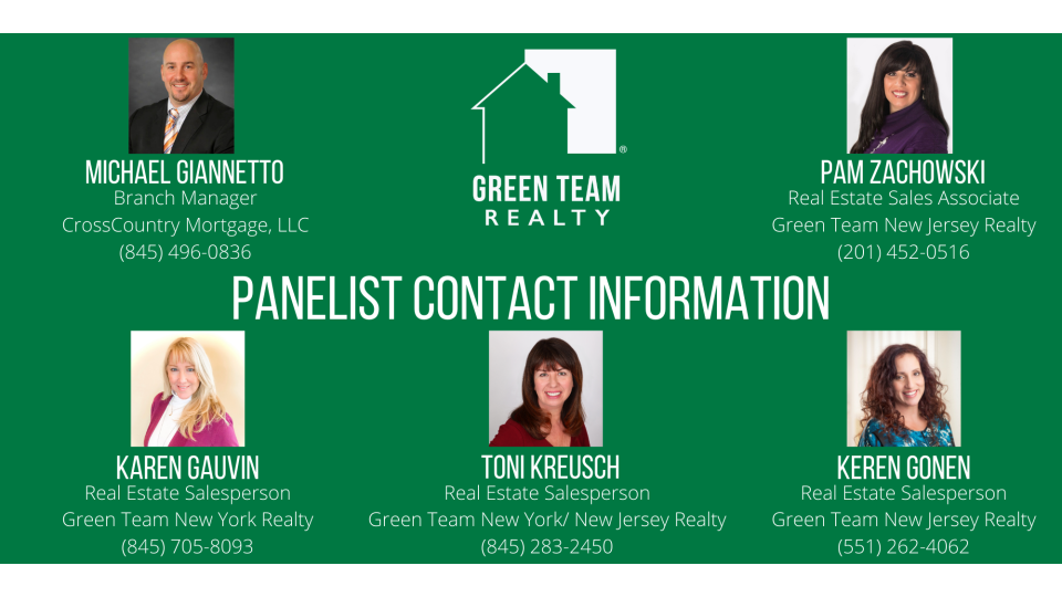 Panelist Contact Info for Dec 2020 HMU
