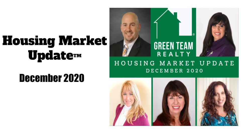 Housing Market Update December 2020