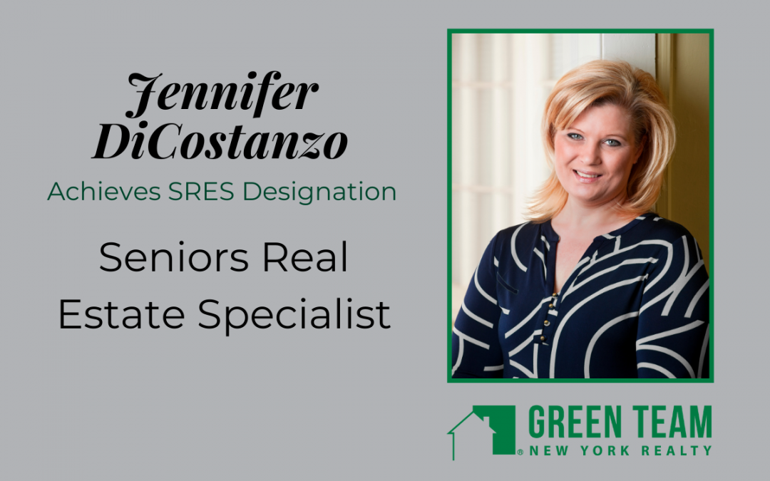 Jennifer DiCostanzo Achieves SRES Designation