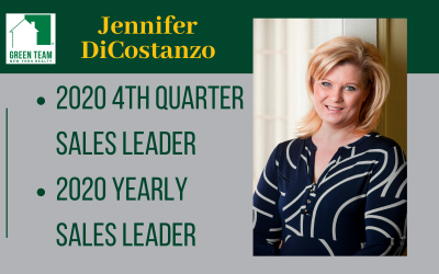 Jennifer DiCostanzo 2020 4th Quarter and Yearly Sales Leader