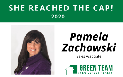Congrats to Pamela Zachowski For Reaching the Cap!