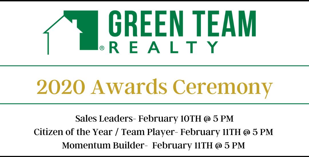 Green Team 2020 Awards Celebration