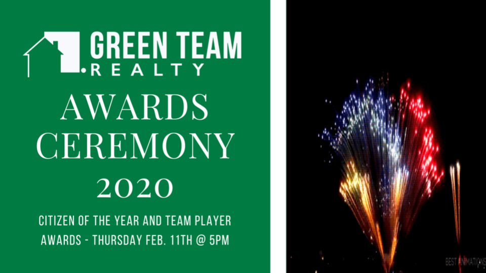 2020 Team Player and Citizen of the Year Awards