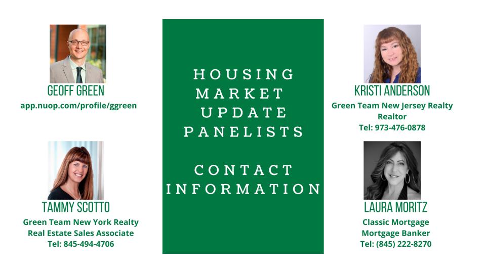 Panelist Contact Info