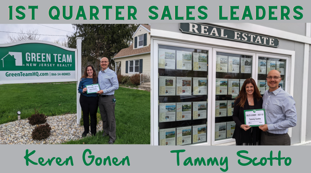 1st Quarter 2021 Sales Leaders