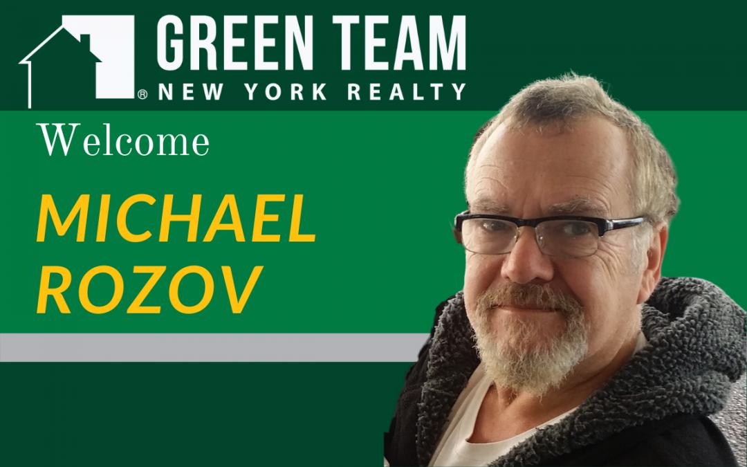 Welcome Michael Rozov