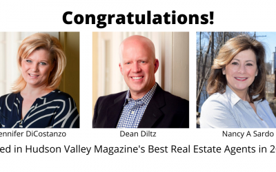 Three GTNYR Realtors among Hudson Valley's Best Real Estate Agents in 2021