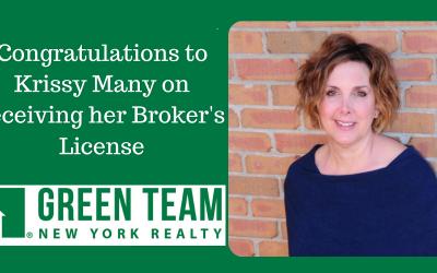 Krissy Many Receives Broker's License