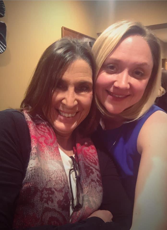 Toni Vogel with Denise Schmidt