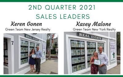 2nd Quarter Sales Leaders