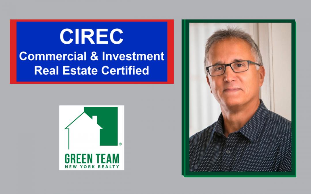 Tom Folino receives CIREC Certification