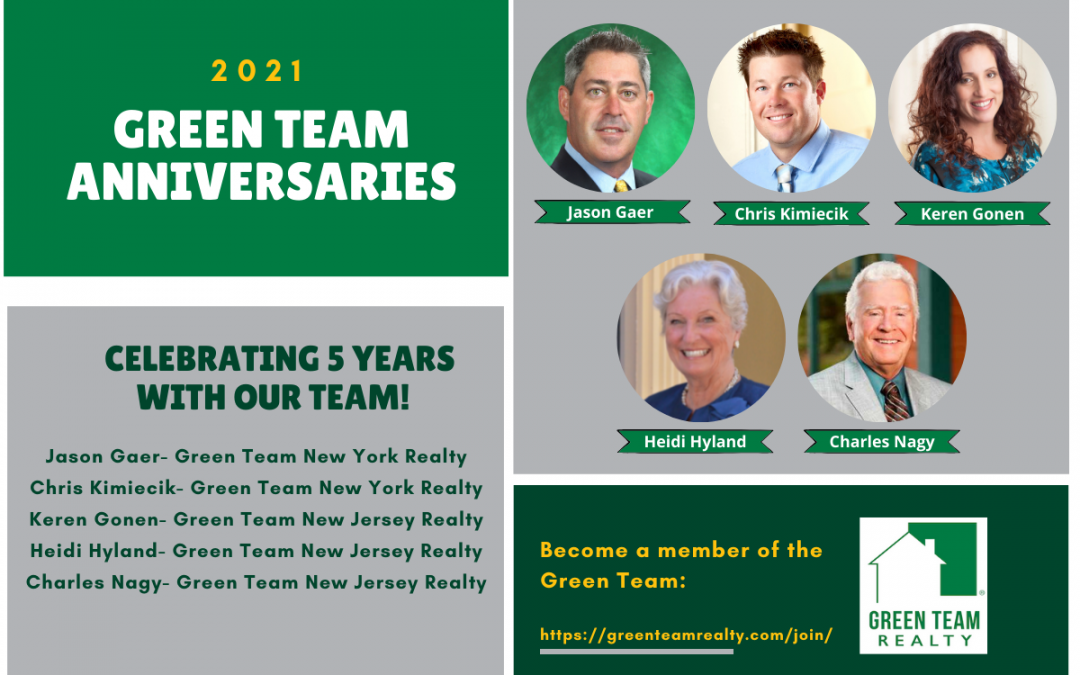 Celebrating Green Team Anniversaries