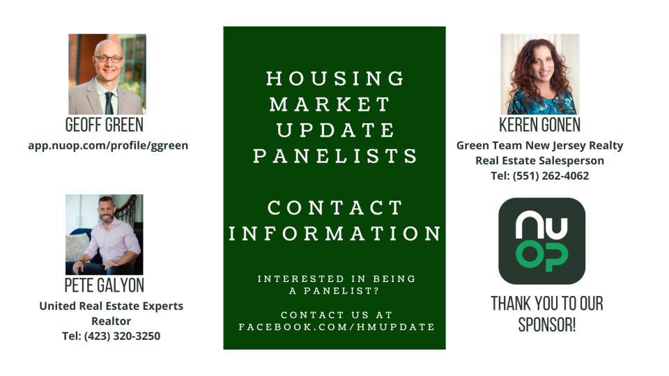 Housing Market Update for August 2021