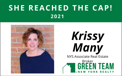 Congrats to Kristine (Krissy) Many For Reaching the Cap!