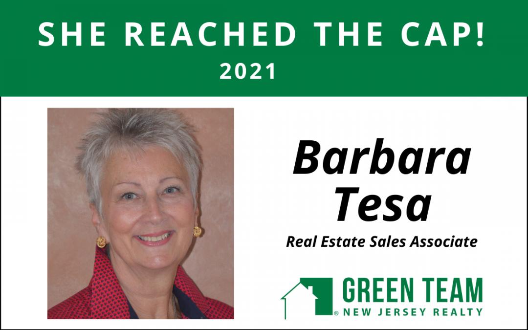 Congrats to Barbara Tesa For Reaching the Cap!
