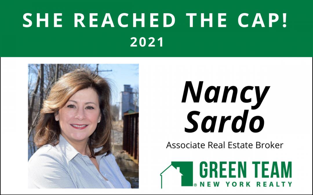 Congrats to Nancy Sardo For Reaching the Cap!