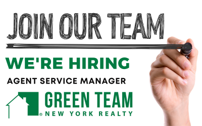 Hiring Agent Service Manager (ASM) at Green Team New York!