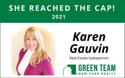 Congrats to Karen Gauvin For Reaching the Cap!