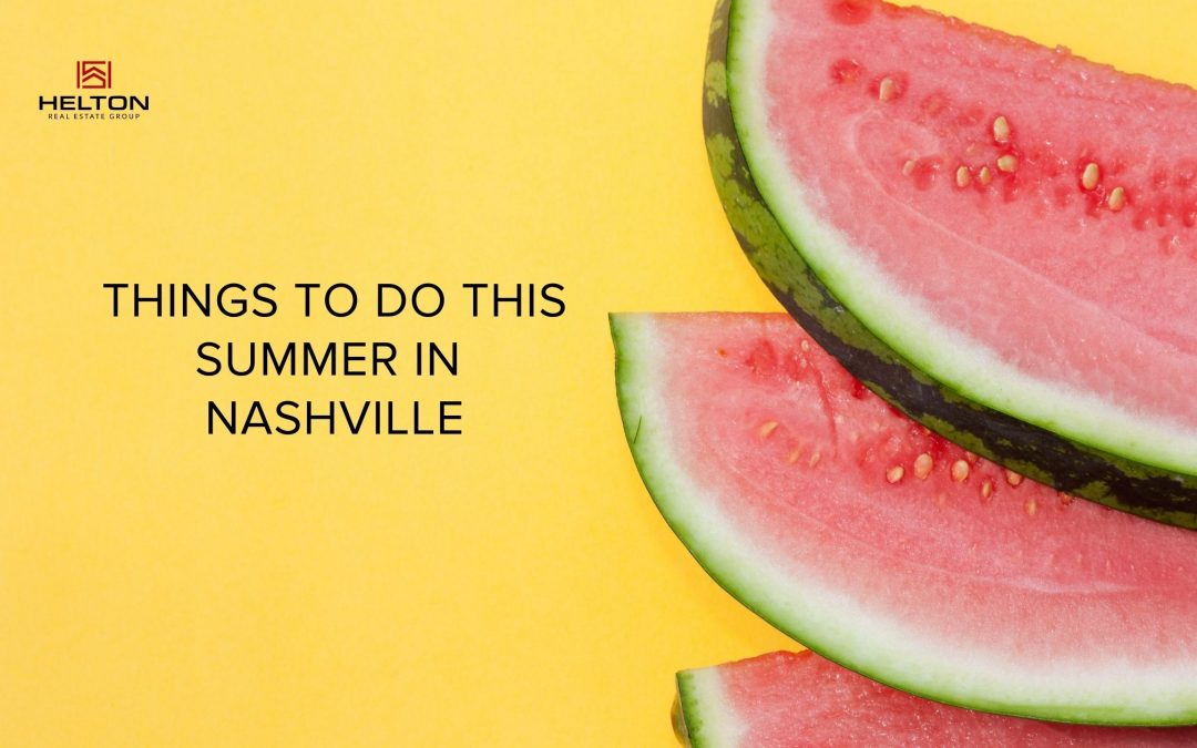 Things to do This Summer in Nashville (Family Edition)