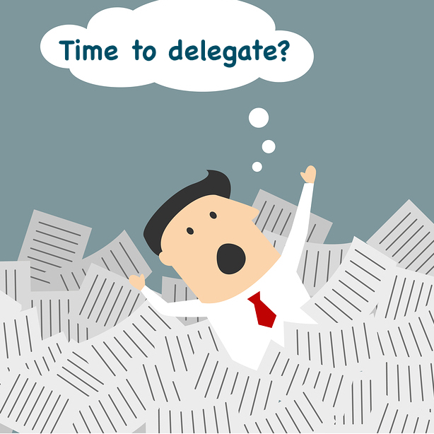 Time to delegate Picture