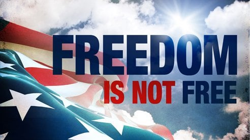 Freedom Isn't Free – Part 1