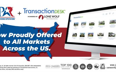 JP & Associates REALTORS? to Provide TransactionDesk, Powered by Lone Wolf, Nationwide