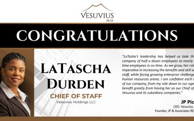 LaTascha Durden Appointed Chief of Staff of Vesuvius Holdings
