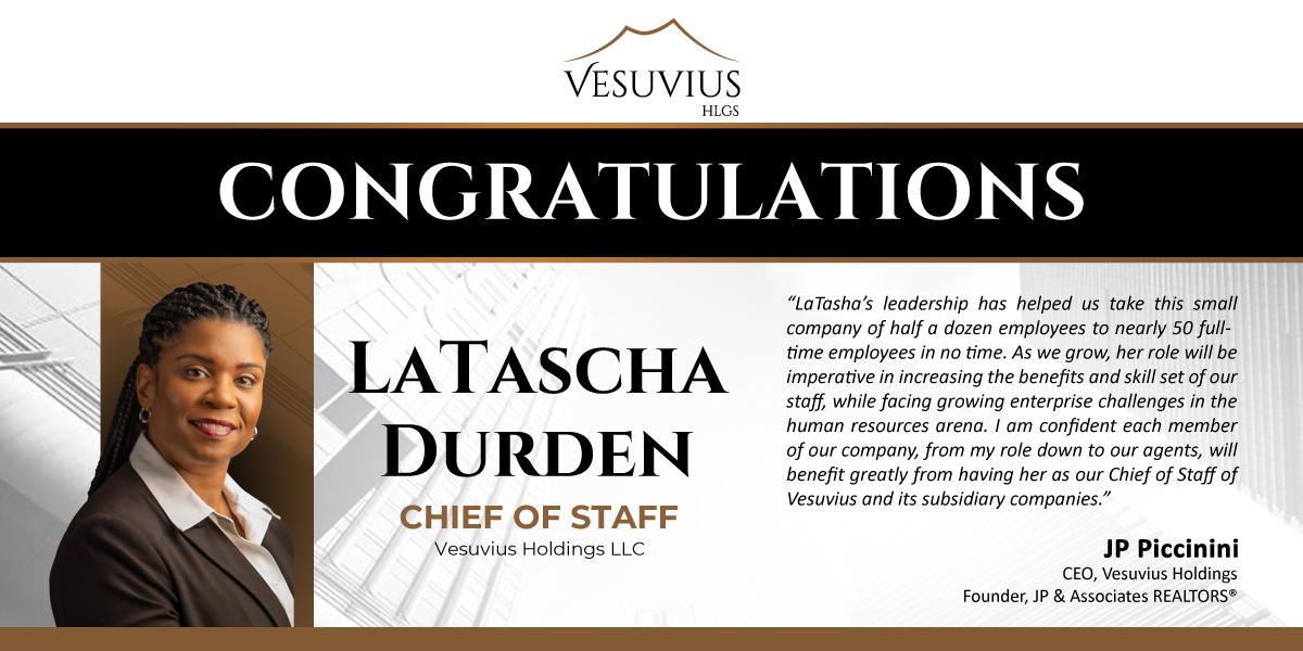 LaTascha Durden new Chief of Staff