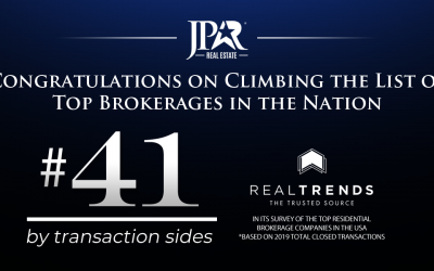 JP & Associates REALTORS? Climbs The List of Top Brokerages in the Nation, REAL TRENDS 500 for 2020