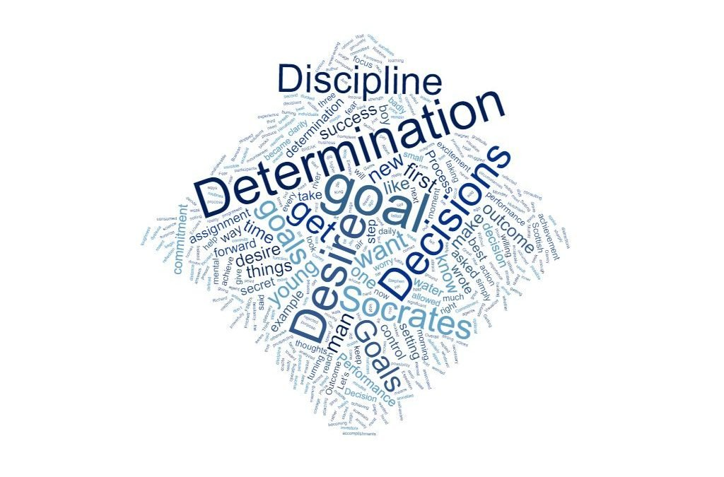 Desire, Decisions, Determination and Discipline