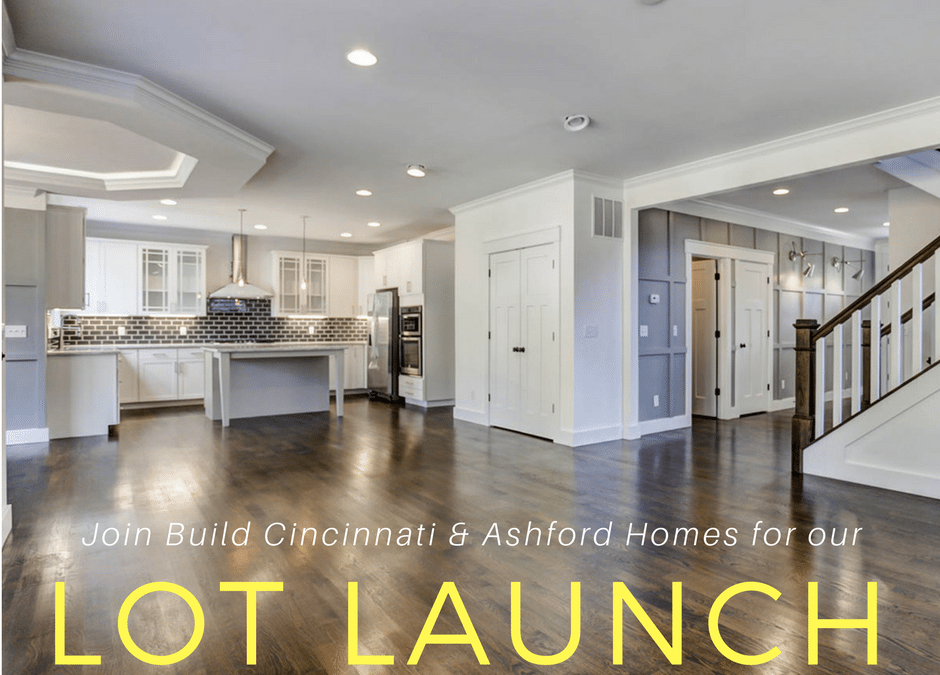 JOIN US FOR OUR LOT LAUNCH!